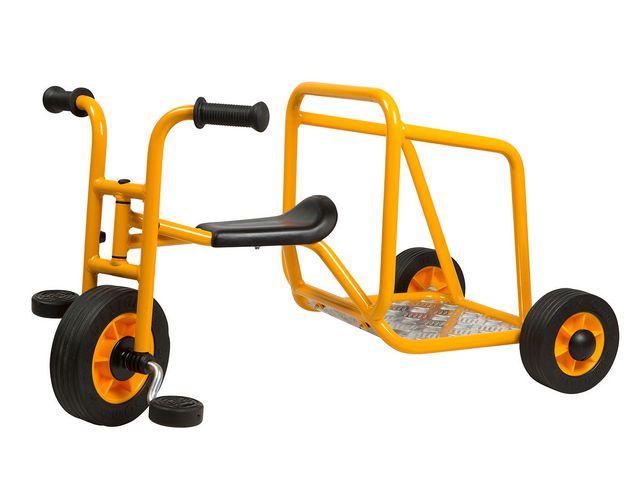 Trehjuling RABO Taxi med ståbräda.
