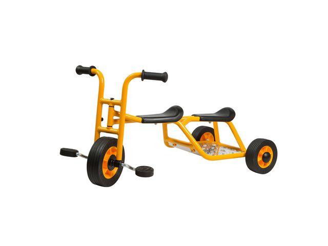Trehjuling RABO med sittplats bak.