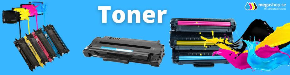 Olika typer av lasertoner